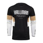 Thor Cross Shirt 2022 Hallman Differ Draft - Zwart / Latte