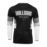 Thor Cross Shirt 2022 Hallman Differ Draft - Zwart / Wit