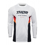 Thor Cross Shirt 2022 Pulse Air React - Wit / Midnight