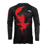 Thor Cross Shirt 2022 Pulse Counting Sheep - Zwart / Rood
