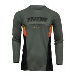 Thor Cross Shirt 2022 Pulse React - Army / Zwart