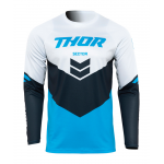 Thor Cross Shirt 2022 Sector Chev - Blauw / Midnight