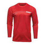 Thor Cross Shirt 2022 Sector Minimal - Rood