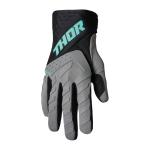 Thor Crosshandschoenen 2022 Spectrum - Grijs / Zwart / Mint