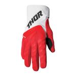 Thor Crosshandschoenen 2022 Spectrum - Rood / Wit