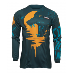 Thor Kinder Cross Shirt 2022 Pulse Counting Sheep - Teal / Tangerine