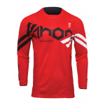 Thor Kinder Cross Shirt 2022 Pulse Cube - Rood / Wit