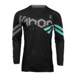 Thor Kinder Cross Shirt 2022 Pulse Cube - Zwart / Mint