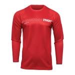 Thor Kinder Cross Shirt 2022 Sector Minimal - Rood