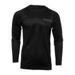 Thor Kinder Cross Shirt 2022 Sector Minimal - Zwart