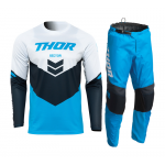 Thor Kinder Crosskleding 2022 Sector Chev - Blauw / Midnight