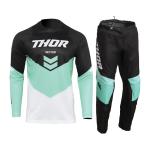 Thor Kinder Crosskleding 2022 Sector Chev - Zwart / Mint