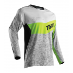 Thor Cross Shirt 2018 Fuse High Tide - Grijs / Lime