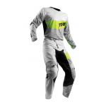 Thor Crosskleding 2018 Fuse High Tide - Grijs / Lime