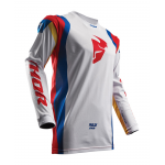 Thor Cross Shirt 2018 Pulse Air Profile - Wit / Multi