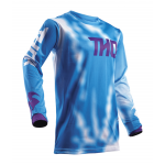 Thor Cross Shirt 2018 Pulse Air Radiate - Jeugd - Blauw