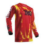 Thor Cross Shirt 2018 Pulse Air Radiate - Jeugd - Rood