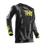 Thor Cross Shirt 2018 Pulse Air Radiate - Jeugd - Zwart