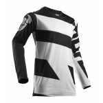 Thor Cross Shirt 2018 Pulse Level - Zwart / Wit