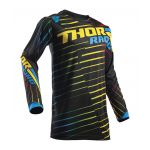 Thor Cross Shirt 2018 Pulse Rogde - Jeugd - Zwart / Multi