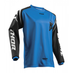 Thor Kinder Cross Shirt 2019 Sector Zone - Blauw
