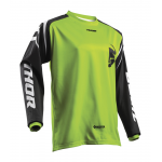 Thor Kinder Cross Shirt 2019 Sector Zone - Lime