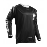 Thor Kinder Cross Shirt 2019 Sector Zone - Zwart