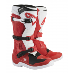 Alpinestars Crosslaarzen Tech 3 - Rood / Wit