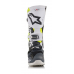 Alpinestars Crosslaarzen Tech 10 LE Angel - Grijs / Wit / Fluo Geel