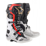 Alpinestars Crosslaarzen Tech 10 LE Battle Born - Zwart / Zilver / Goud