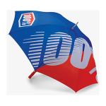 100% Paraplu Premium - Blauw / Rood