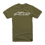 Alpinestars T-Shirt Blaze - Military / Wit