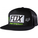 Fox Snapback Pet Monster Paddock - Zwart