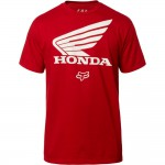 Fox T-Shirt Honda - Rood