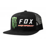 Fox Snapback Monster Energy Pro Circuit - Zwart
