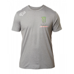 Fox T-Shirt Monster Energy Pro Circuit  - Heather Donker Grijs