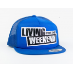 LFTW Pet Snapback Royal Trucker - Blauw