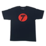 Seven - T-shirt Dot - Navy