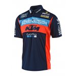 Troy Lee Designs 2018 Team KTM Pit Shirt - Navy