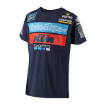 Troy Lee Designs 2018 Team KTM T-shirt - Jeugd - Navy