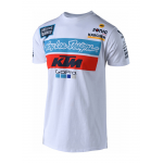 Troy Lee Designs 2018 Team KTM T-shirt - Wit