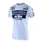 Troy Lee Designs 2019 Team KTM T-shirt - Wit