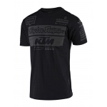 Troy Lee Designs 2019 Team KTM T-shirt - Zwart