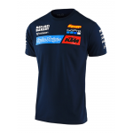 Troy Lee Designs 2020 Team KTM Kinder T-shirt - Navy