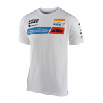 Troy Lee Designs 2020 Team KTM T-shirt - Wit