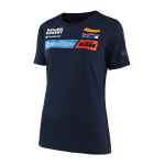Troy Lee Designs 2020 Team KTM Dames T-shirt  - Navy