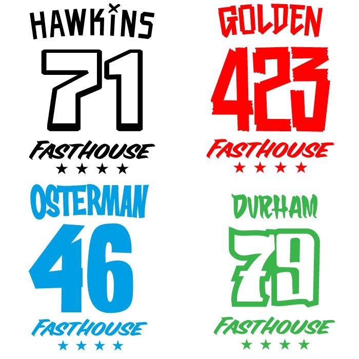 Fasthouse Cross Shirt Bedrukken