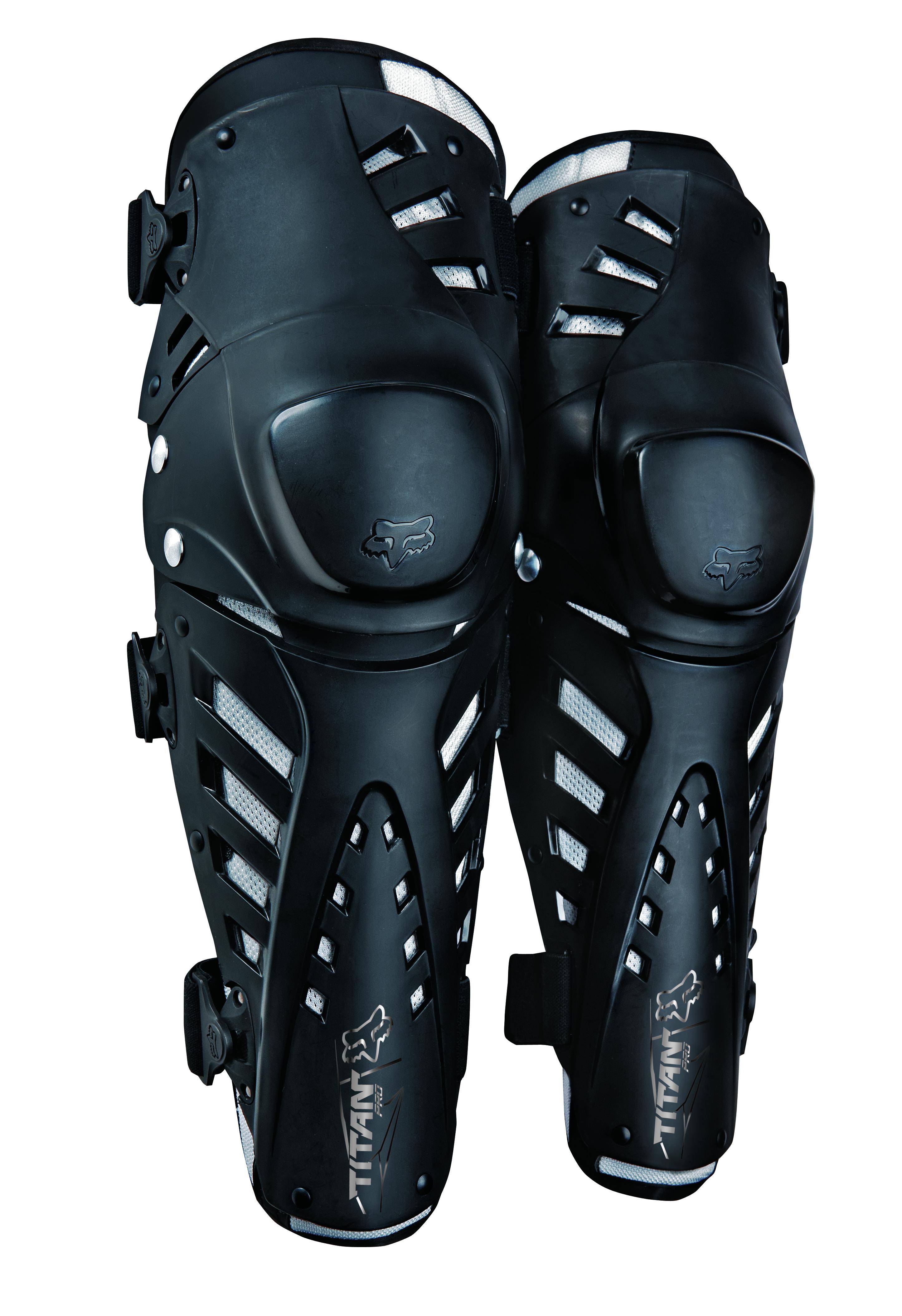 Fox Kniebeschermer Titan Pro - Zwart