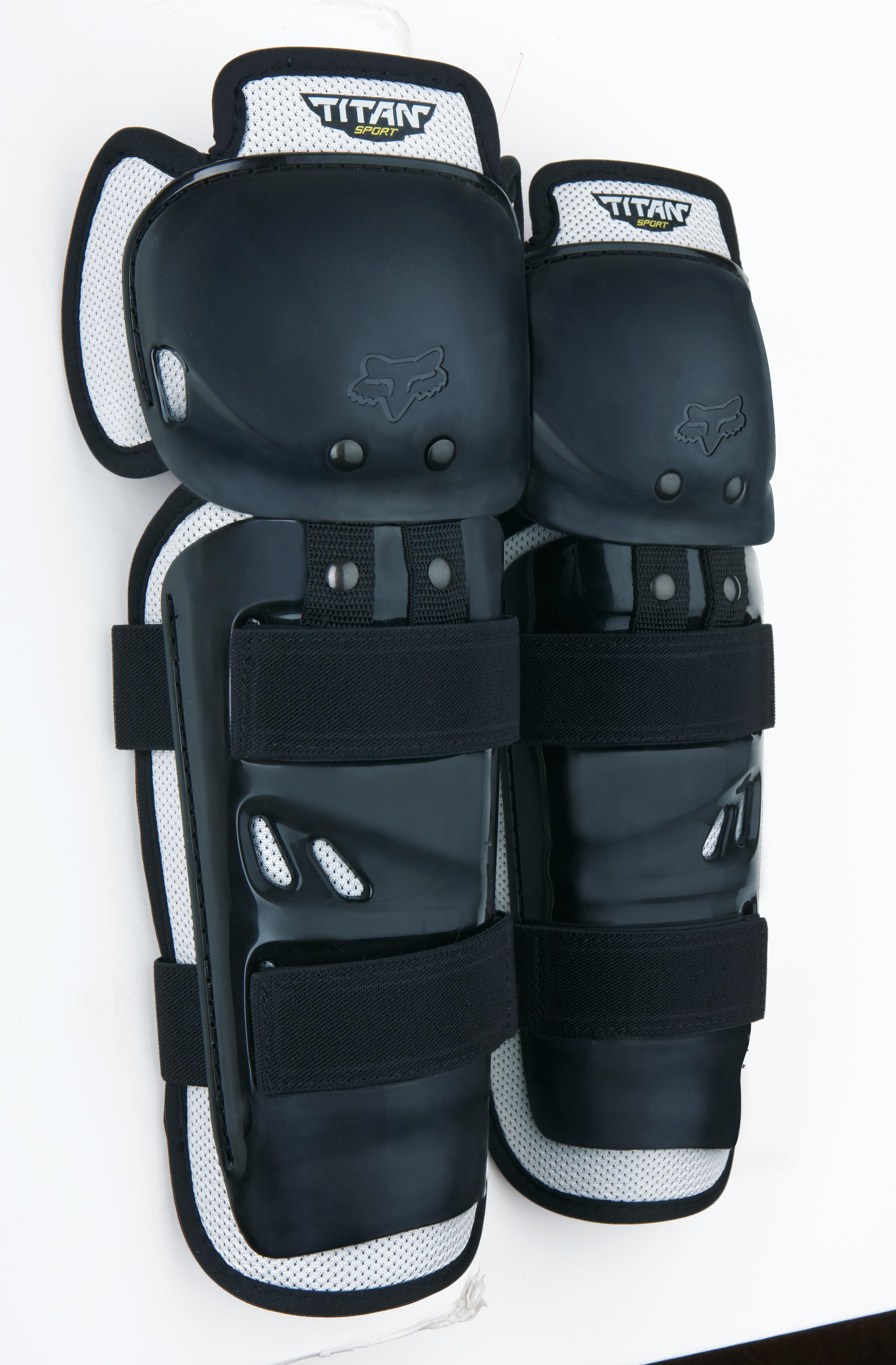 Fox Kniebeschermer Titan Sport - Zwart