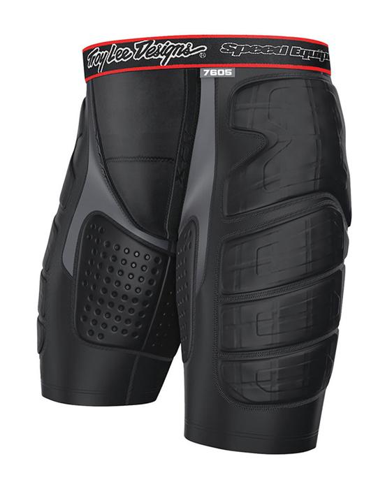 Troy Lee Designs Ultra Beschermings Broek Kort 7605 - Zwart